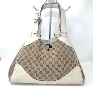Gucci GG Monogram Hobo Vintage Bag